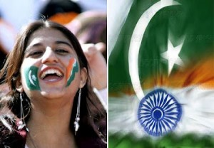 India vs Pakistan Cricket fan's smiles