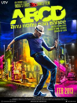 ABCD Any Body Can Dance 2013 2013 Movie Poster