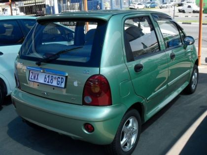 Chery QQ 0.8 Standard Green Colour