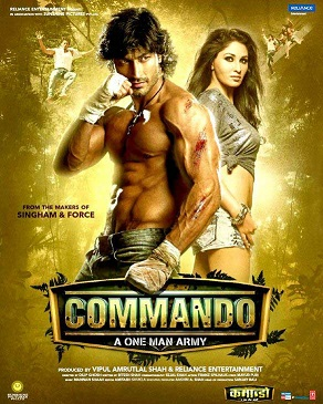 Commando 2013 Movie Poster