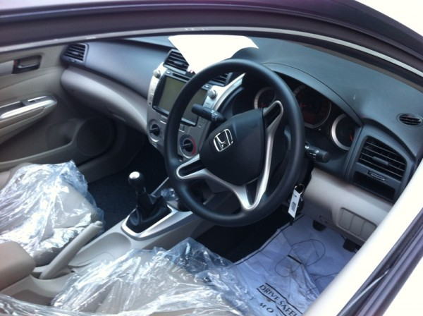 Honda City Aspire Interior Pictures