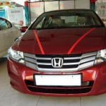 Honda City i-VTEC Red Colour