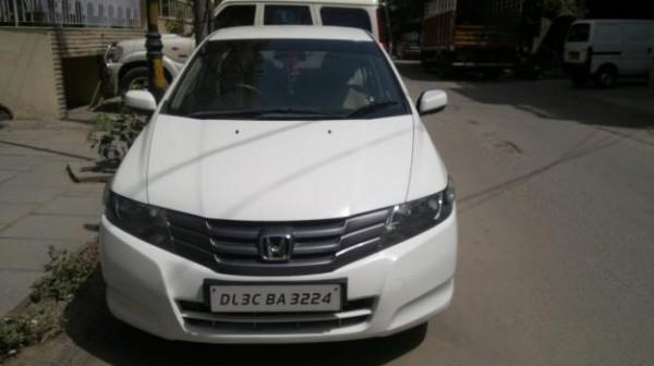 Honda City i-VTEC White Colour