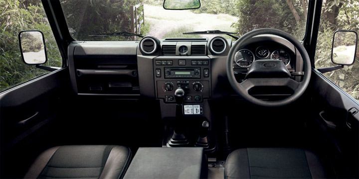 Land Rover Defender 90 Sw Interior Pictures