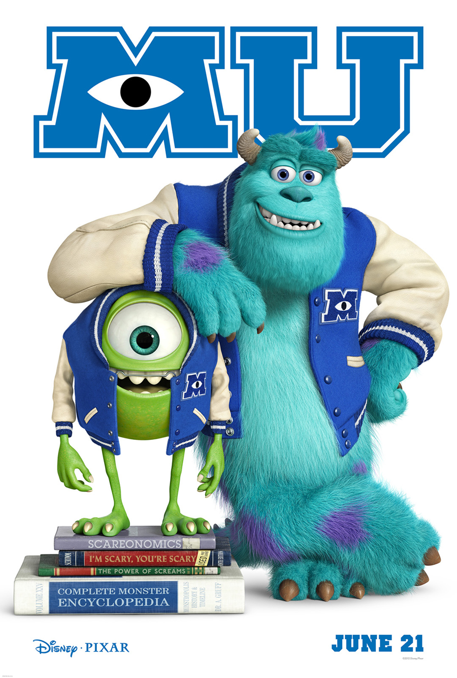 "Watch Hollywood Movie ""Monsters University"" Trailer Online"
