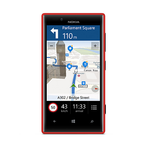 Nokia Lumia 720 Here Maps
