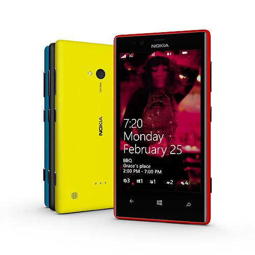 Nokia-Lumia-720 Unibody Design