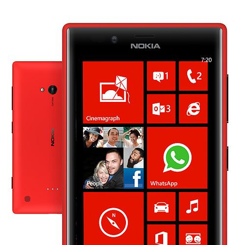 Nokia Lumia 720 Windows 8 Live Tiles