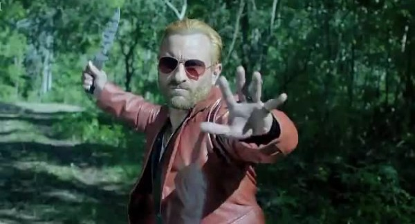 Saif in Action in Go Goa Gone