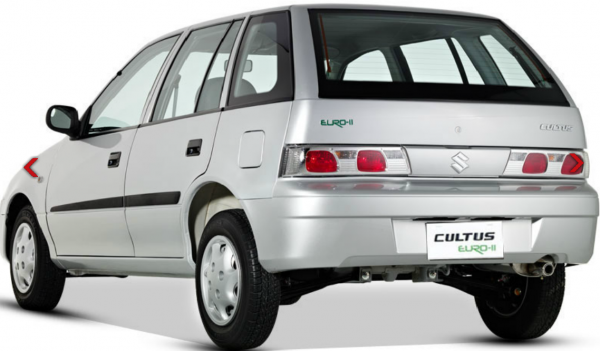 Suzuki Cultus EURO II Rear Back Photos
