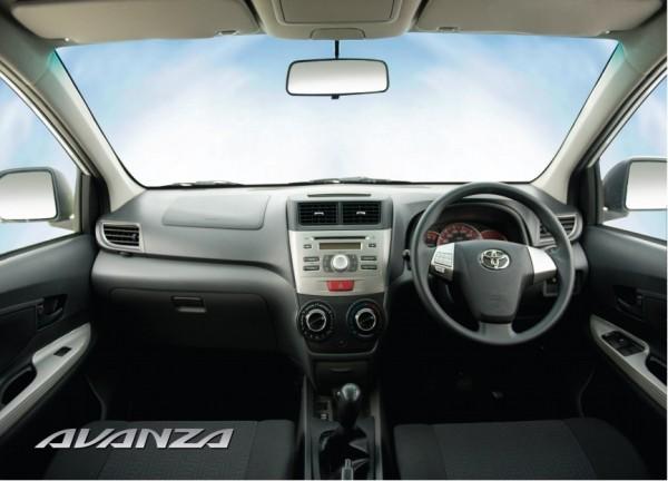 Toyota Avanza 1.5 2013 Interior Pictures
