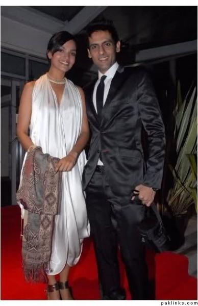 Amina Sheikh and Mohib Mirza