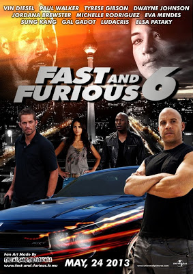 Fast and Furious 6 2013 Movie Poster