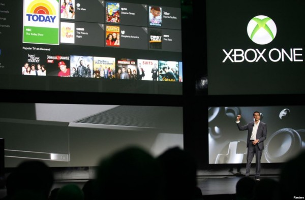 Microsoft Unveils New Xbox One Game Console
