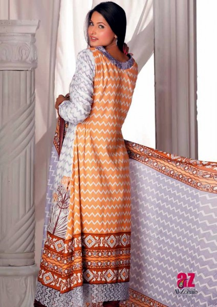 Al-Zohaib Latest Lawn Collection