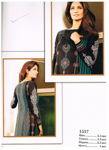 Asim Jofa Crystal Latest Lawn Collection Black suite