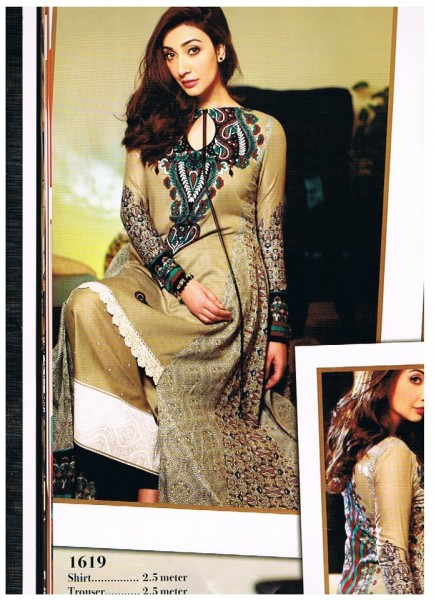Latest Lawn Collection 2013 BY Asim Jofa
