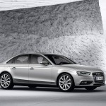 Audi A4 2013 side view