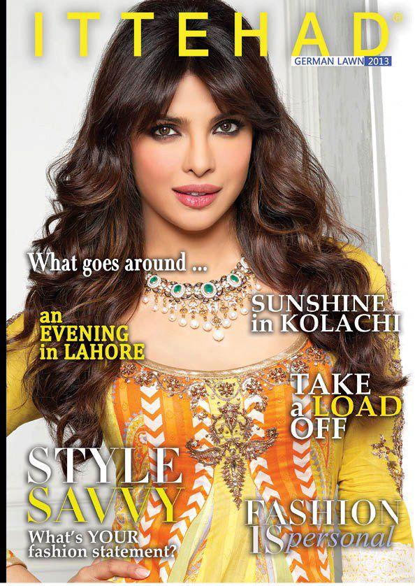 Priyanka Chopra: Brand Ambassador for Ittehad 2013