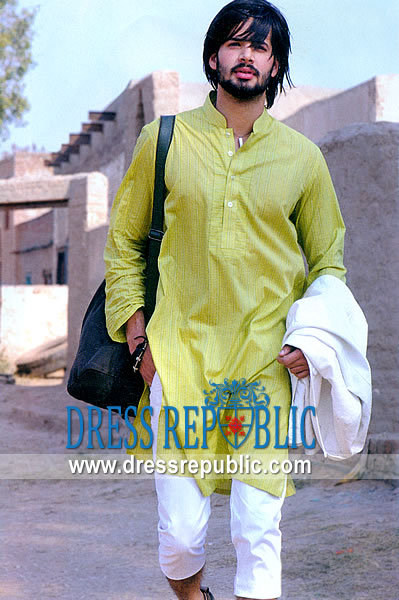 Men's Shalwar Kameez 2013 Green