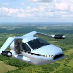 World`s first flying car Transition