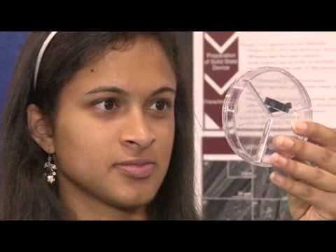 Eesha Khare Invents a Device to Charge Cell Phones