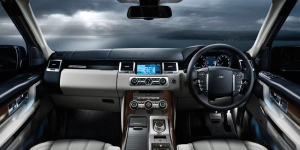 Range Rover Sport SE Interior View