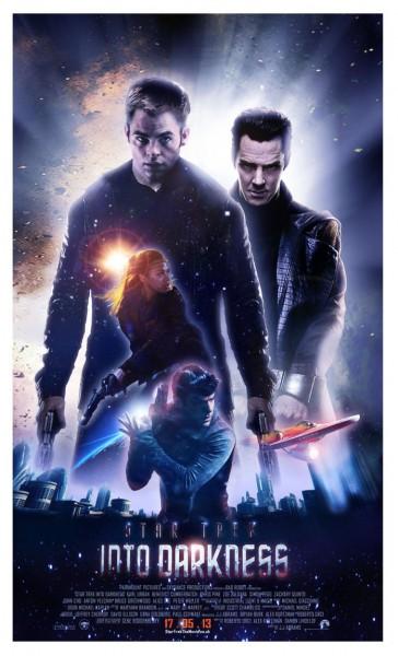 Star Trek into Darkness Movie Poster 2013