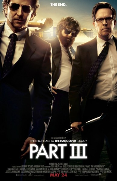 The Hangover 3 2013 Movie Poster