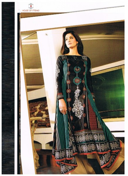 Asim Jofa Crystal Latest Lawn Collection 2013