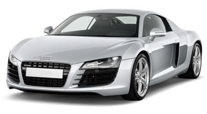 Audi R8 2013 Side view