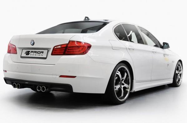 BMW 5 Series F10 M Backside View