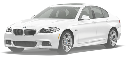 BMW 5 Series F10 M Front Side View