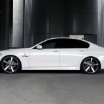 BMW 5 Series F10 M Side View