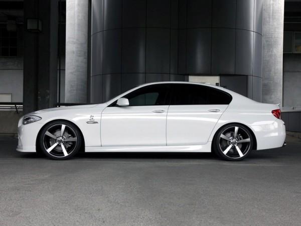 BMW 5 Series F10 M Side View