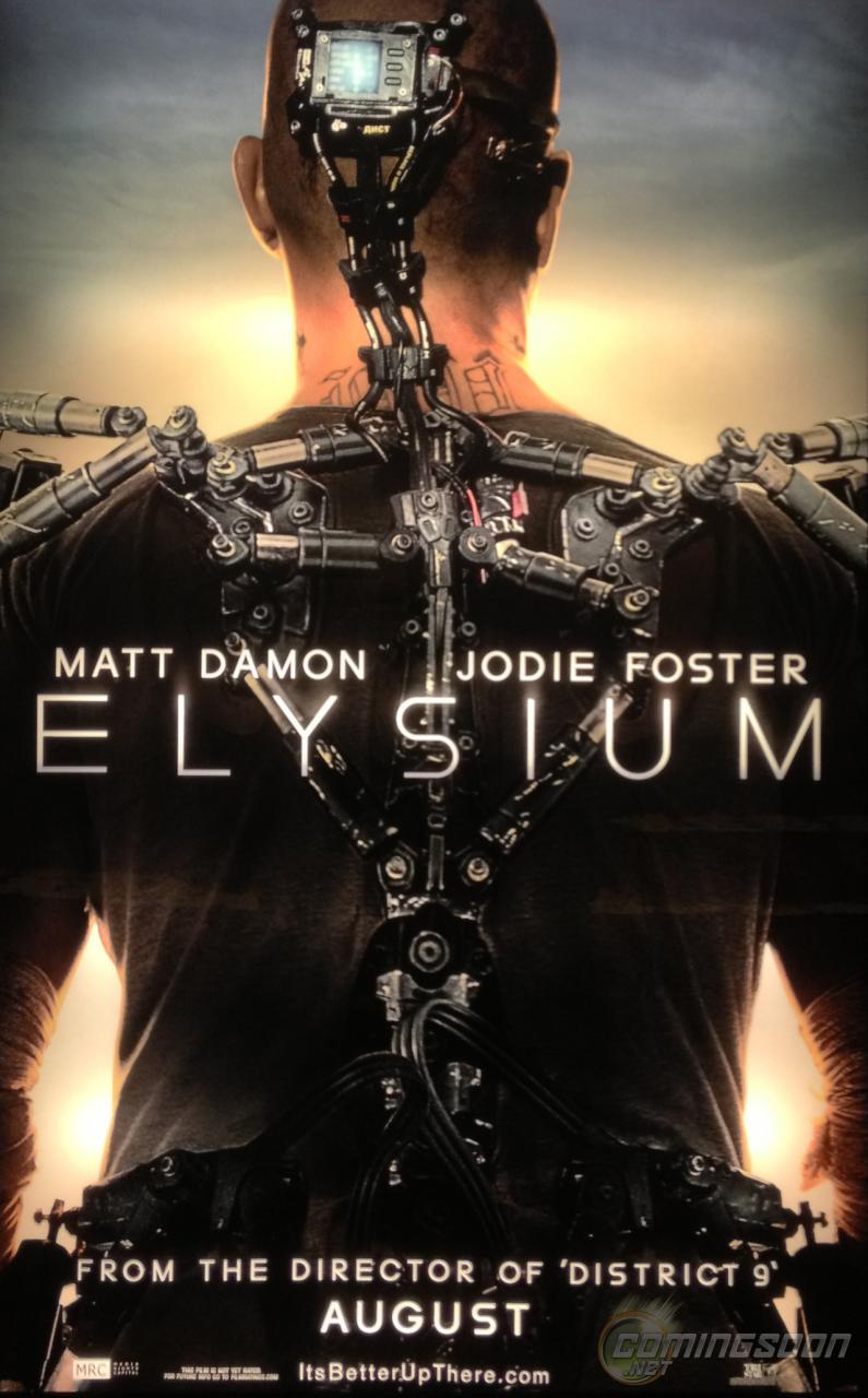 Elysium Movie 2013 Poster