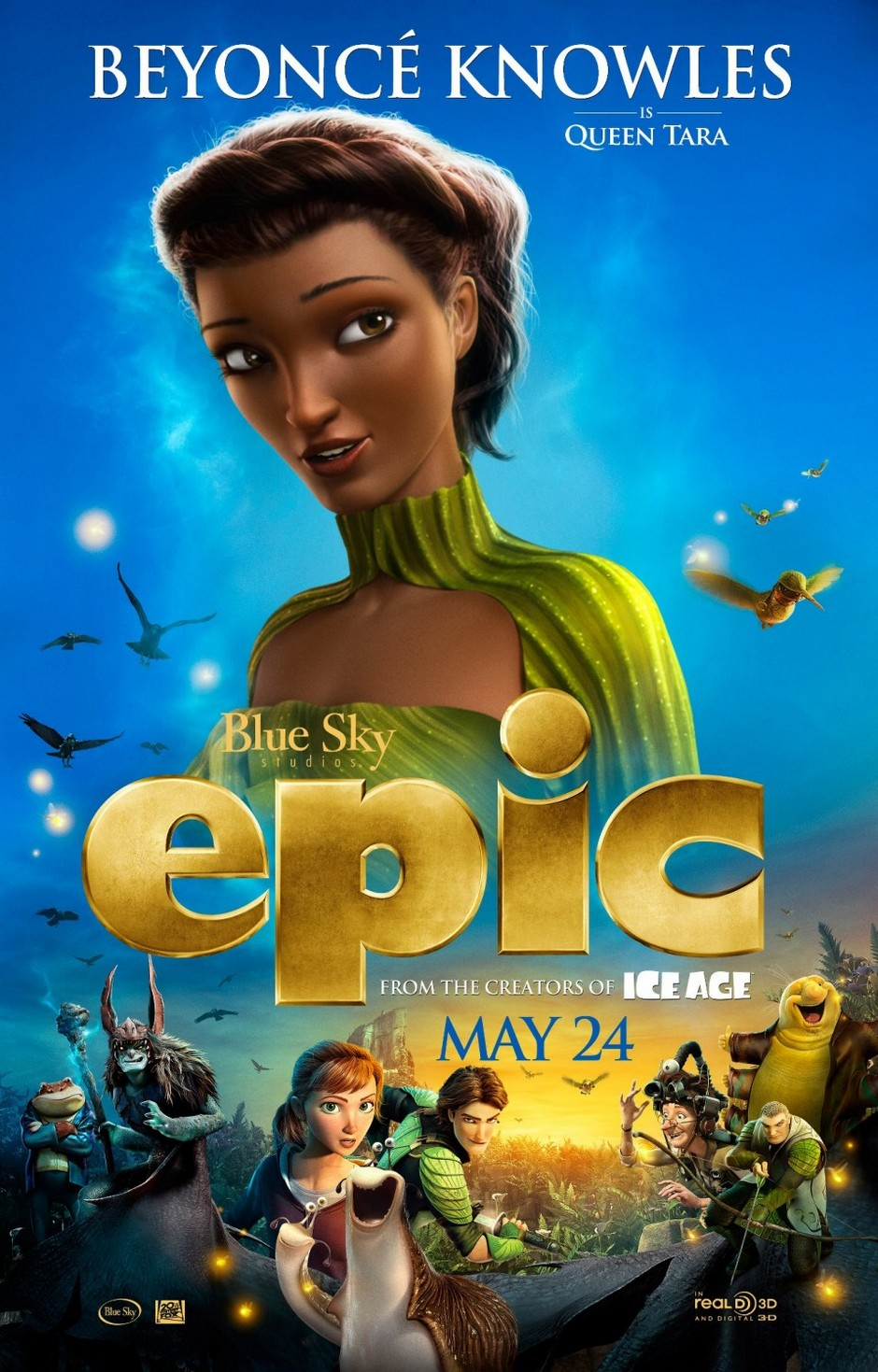 epic 2013 movie poster