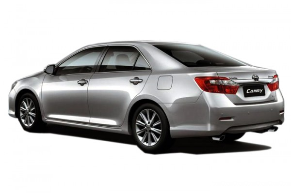 Toyota Camry 2.4 2013 Backside View