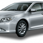 Toyota Camry 2.4 2013 Frontside View
