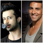 Atif Aslam & Akshay Kumar Photo