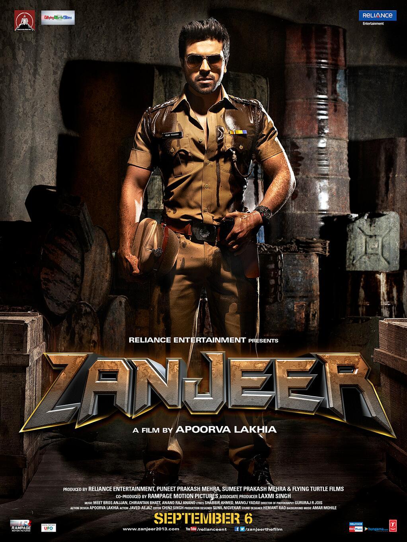 Bollywood Movie Zanjeer 2013 Poster