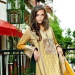 Firdous Latest Eid Lawn Dresses Collection 2013 Still