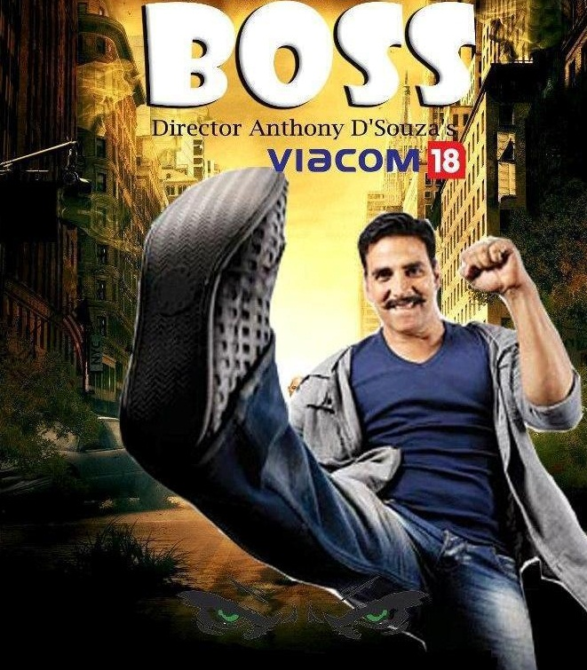 "Movie 2013 ""BOSS"" Poster"