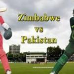 Pak Vs Zimbabwe