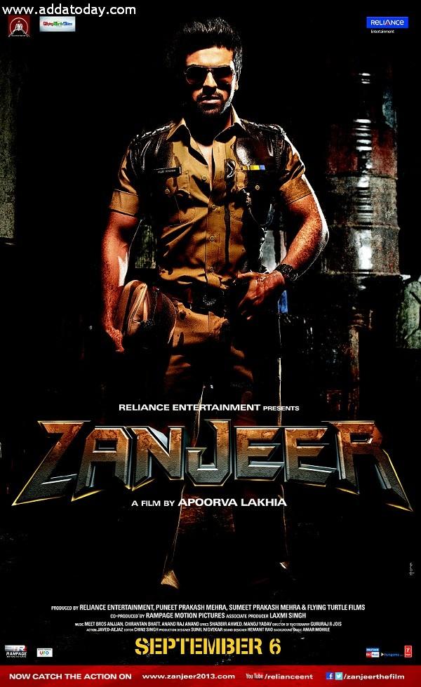 Movie Zanjeer Poster 2013
