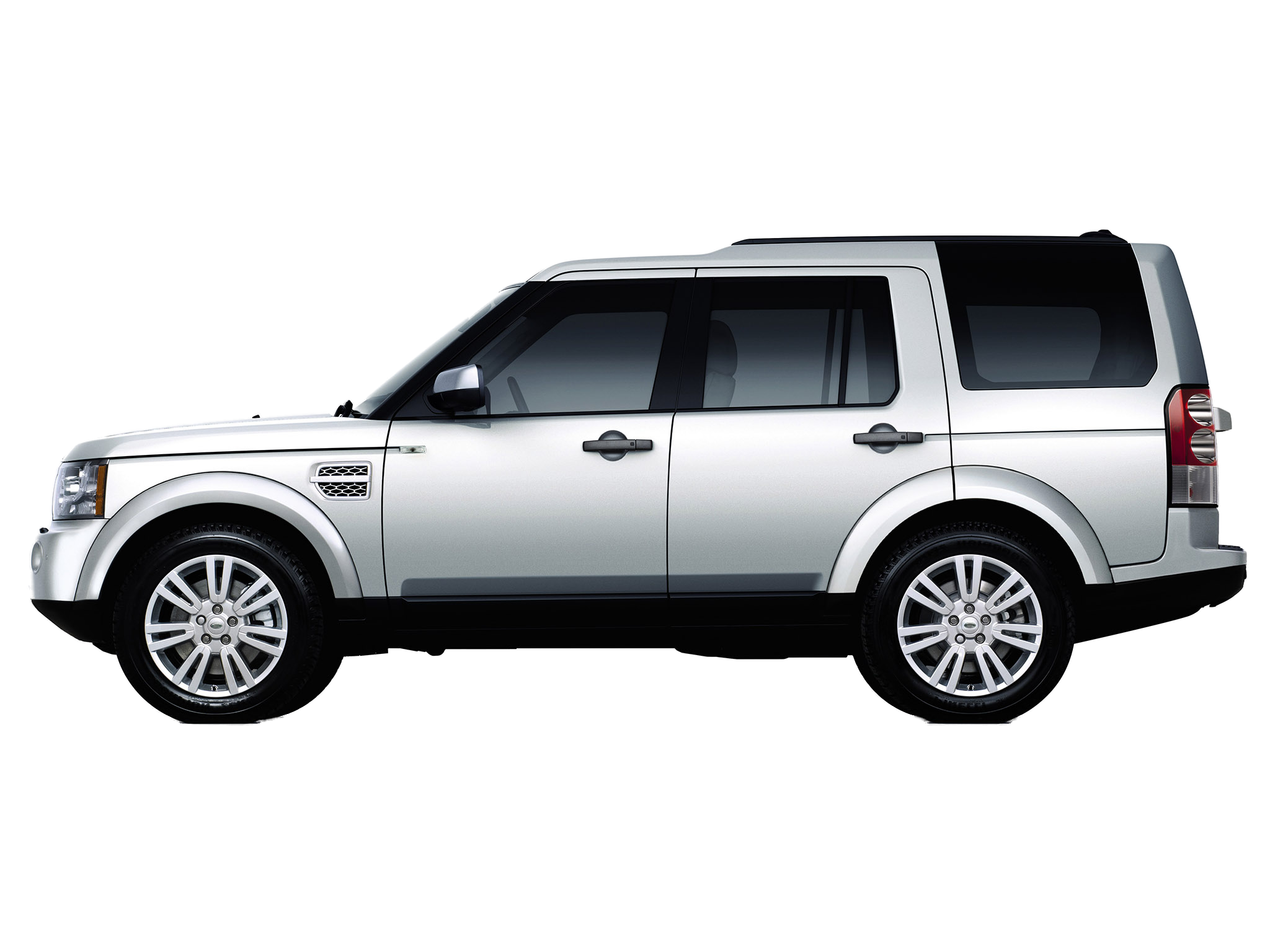 rover discovery 4 hse 2013 side view