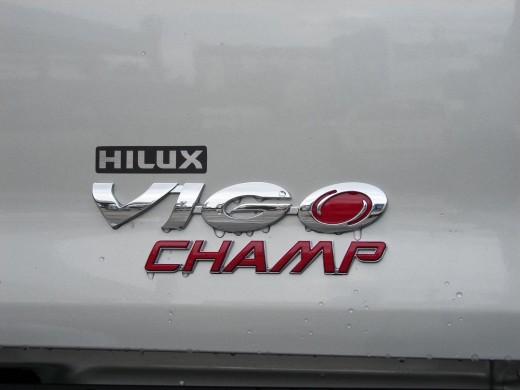 Toyota Hilux Vigo Champ Grade G 2013 snap