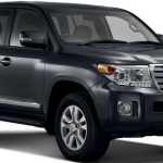 Toyota Land Cruiser SW GX 2013 front view