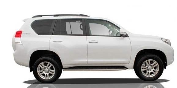 Toyota Land Cruiser Prado 4 0 Vx 2013 Side View