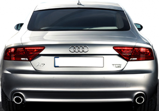 Audi A7 Sportback 2013 back view